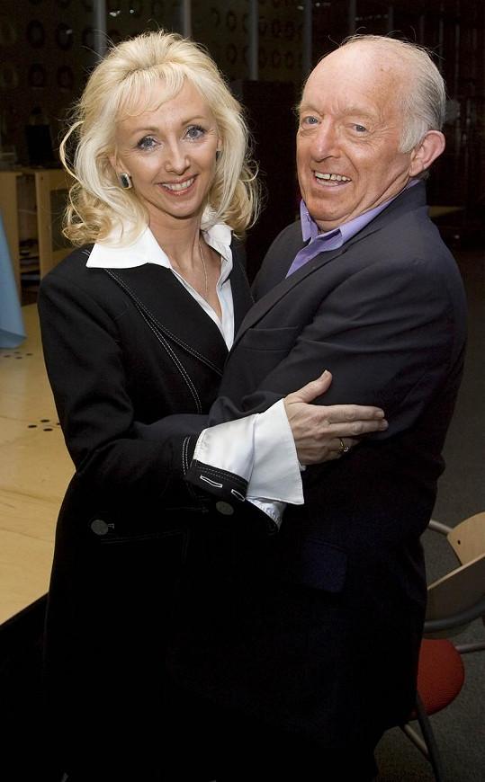 Paul Daniels s manželkou Debbie McGee