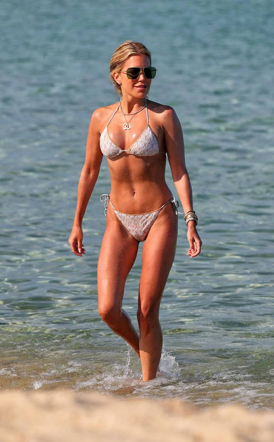 Sylvie Meis si užívá romantiku v Saint Tropez.