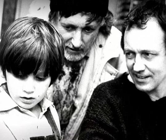 Jorik Jakubisko jako malý chlapec