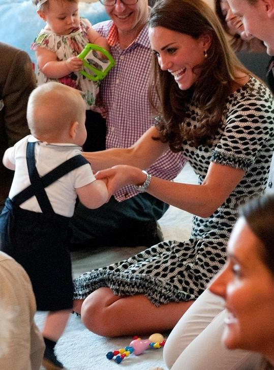 Vévodkyně Kate ostatním rodičům ukázala, jak šikovný je její malý následovník trůnu...