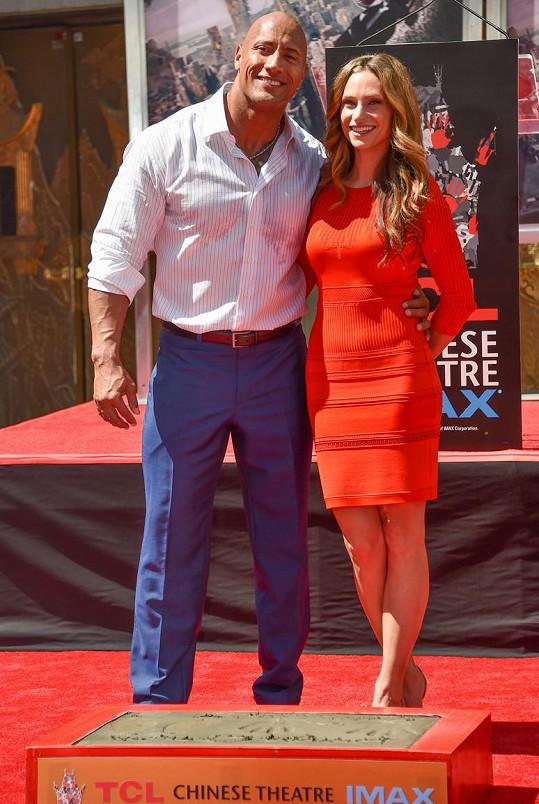 Dwayne Johnson s přítelkyní Lauren Hashian