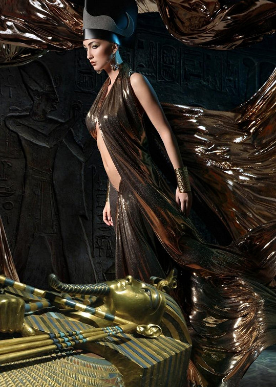 Egyptská královna Kleopatra.
