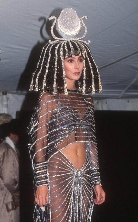 V roce 1988 v jednom z dalších extravagantních modelů.