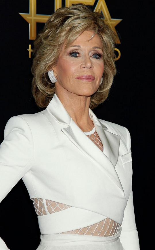 Jane Fonda na udílení Hollywood Film Awards