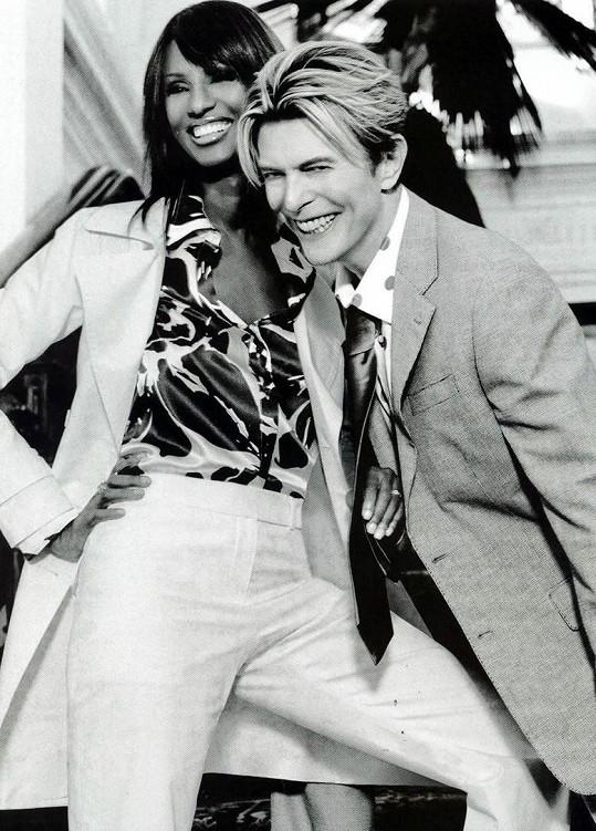 Od roku 1992 až do jeho loňského úmrtí byla manželkou zpěváka Davida Bowieho.