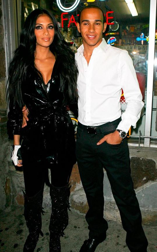 Nicole a Lewis spolu randili sedm let.