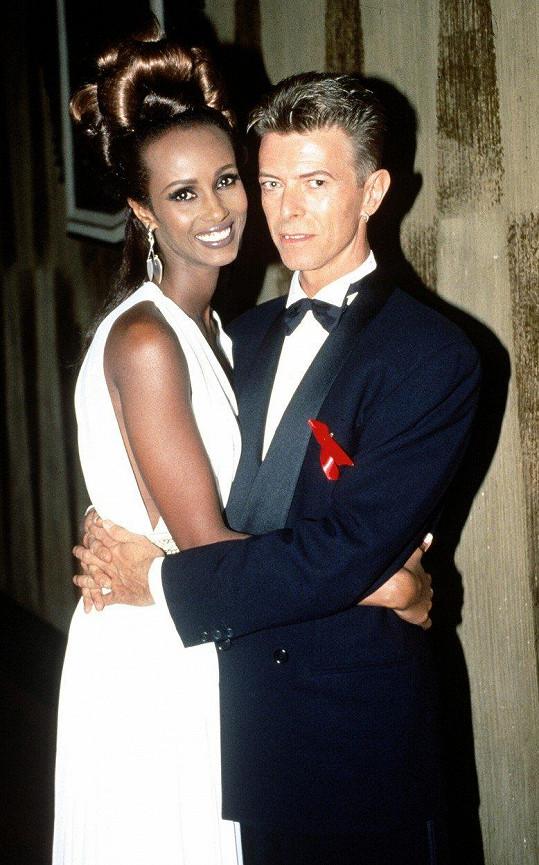 David Bowie s Iman v roce 1992