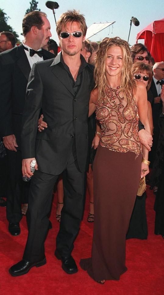 Brad Pitt byl s Jennifer Aniston ženatý pět let.