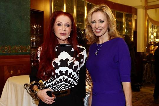 Blanka na prezentaci svého revitalizačního séra pozvala i Kateřinu Brožovou.