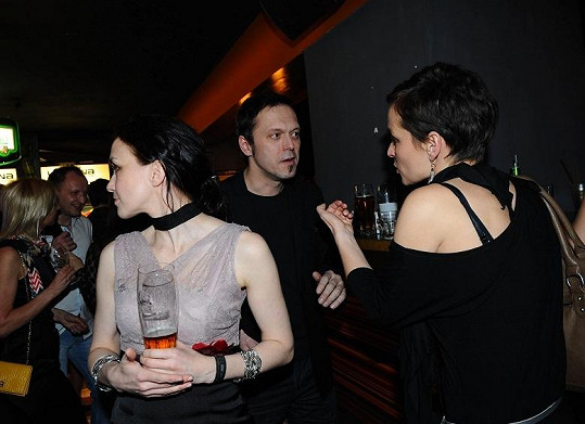 Dyk s Martinou a Karolínou Ruppert na Lvech.