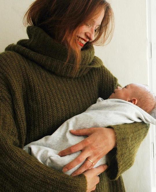 Kateřina Geislerová měla těžký porod.