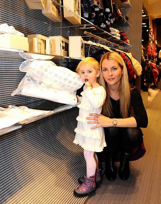 Karla Mráčková s dcerou Karličkou