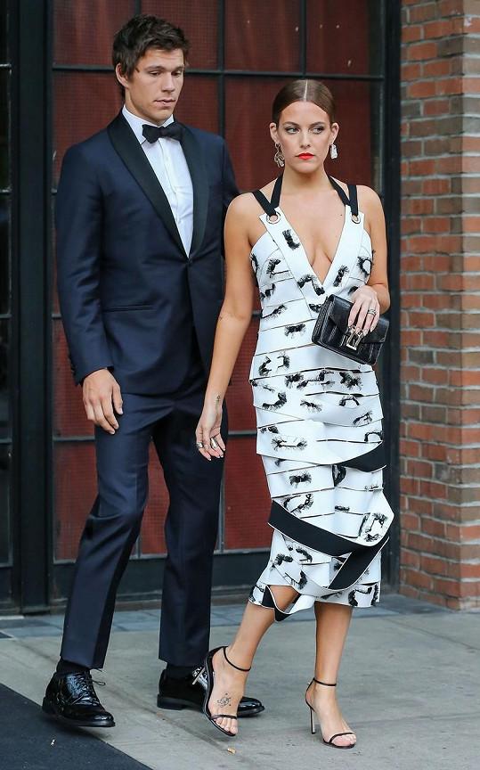 Riley Keough s manželem