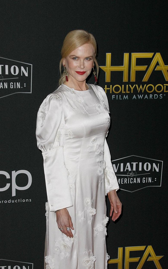 Nicole Kidman opustila školu v 16, aby se stala herečkou.