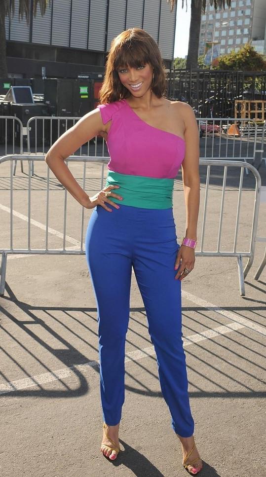 Krásná Tyra Banks.