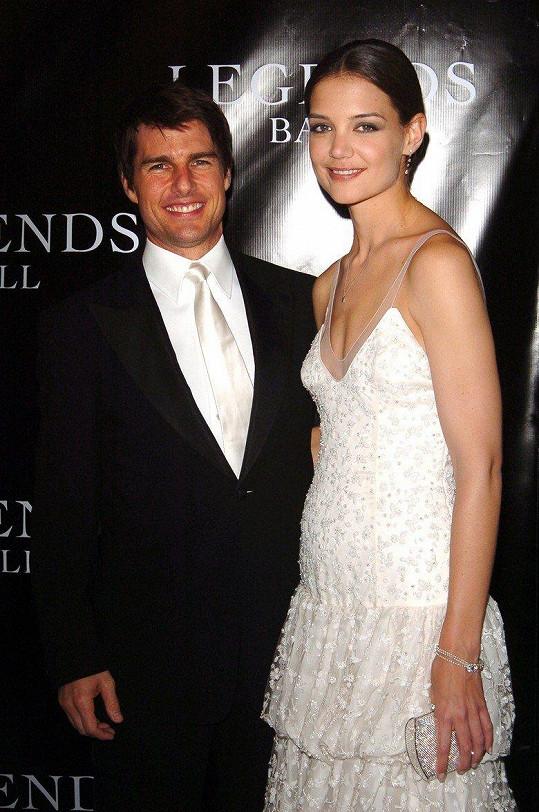 Katie Holmes se před pěti lety rozvedla s Tomem Cruisem.