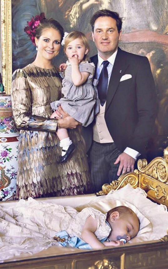 Princezna Madeleine a její manžel Chris už spolu mají dvě děti.