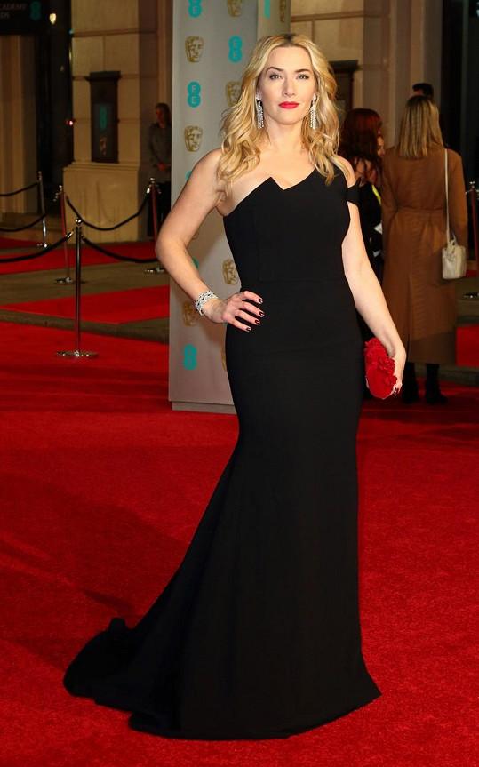 Takhle to Kate slušelo na udílení cen BAFTA.