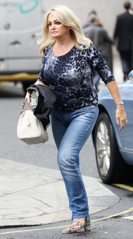 Takhle vypadá Bonnie Tyler dnes.