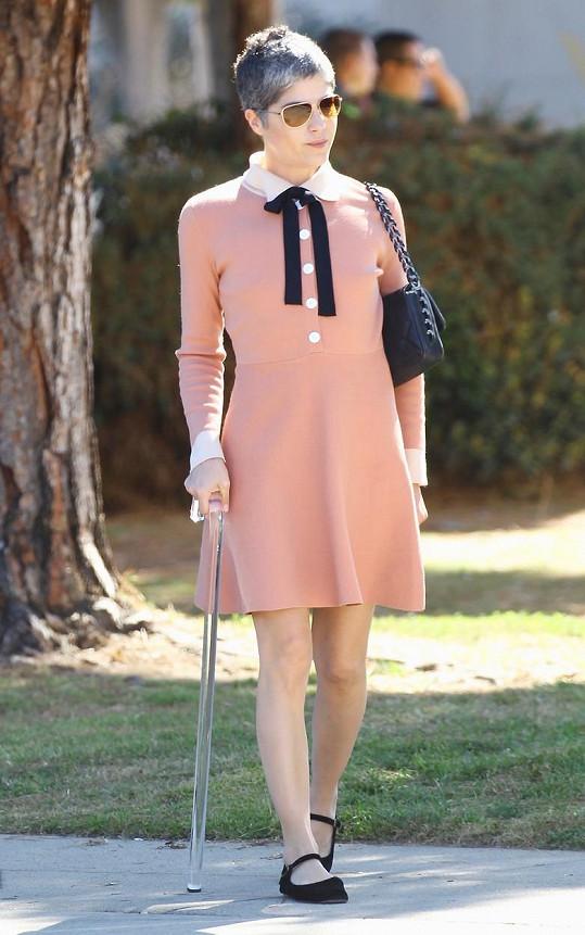 Selma Blair promluvila o roztroušené skleróze.