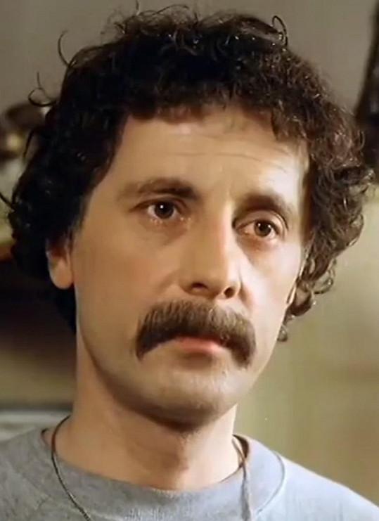 Jiří Datel Novotný v roce 1983 v seriálu Návštěvníci