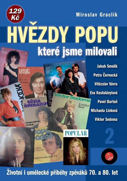 Obálka knihy, ve které se píše o Petře Černocké.