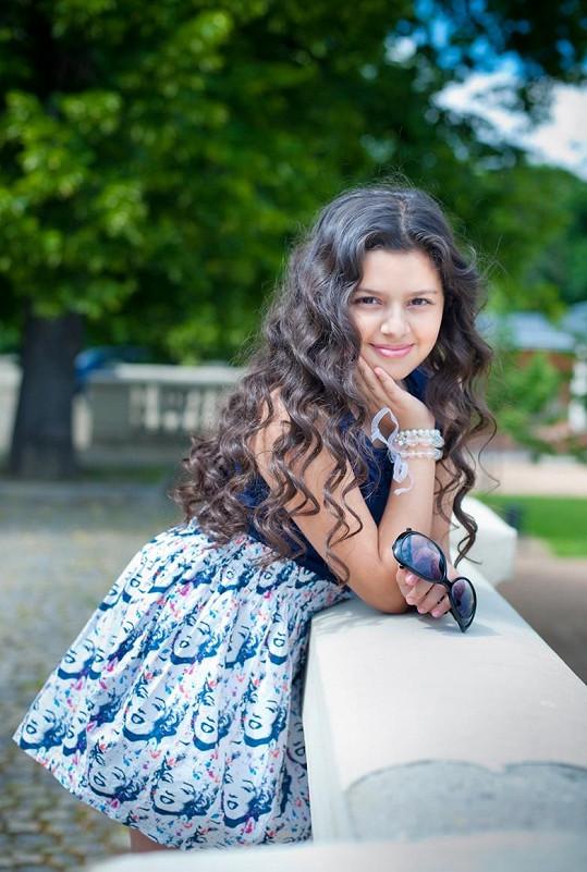Kalashová zaujala svým vzhledem a zpěvem už v Talentu.