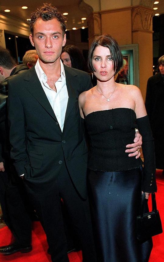 Rodiče Jude Law a Sadie Frost