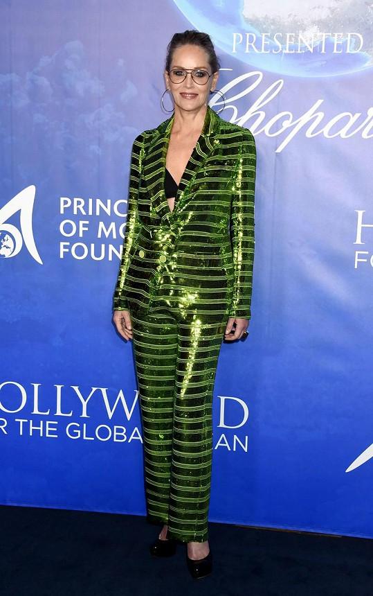 Sharon Stone prozradila, kdo z jejích filmových partnerů líbal nejlépe.