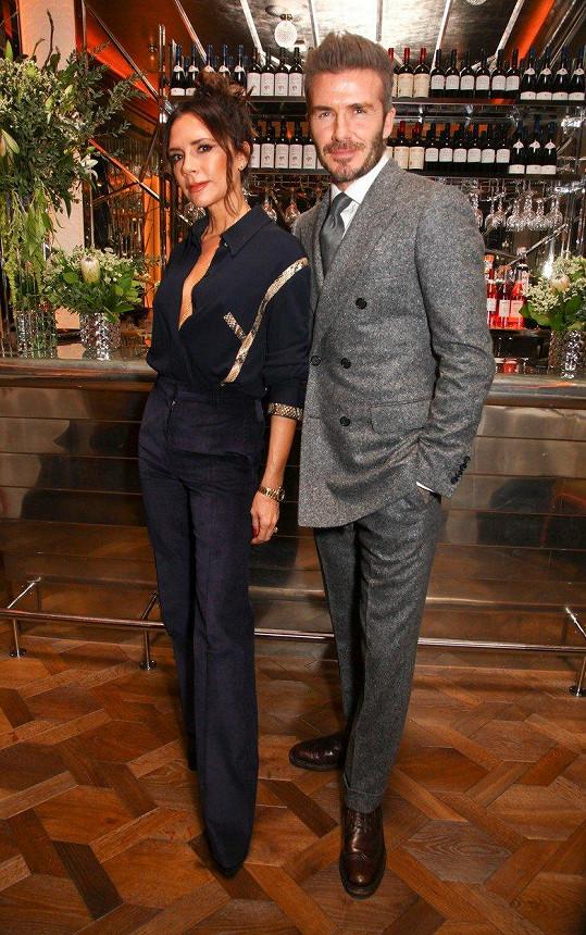 S Davidem jsou velmi stabilním párem pár od počátku jejich vztahu. Oba si prošli dlouhou cestu, než našli svůj styl a dnes jsou módními ikonami.