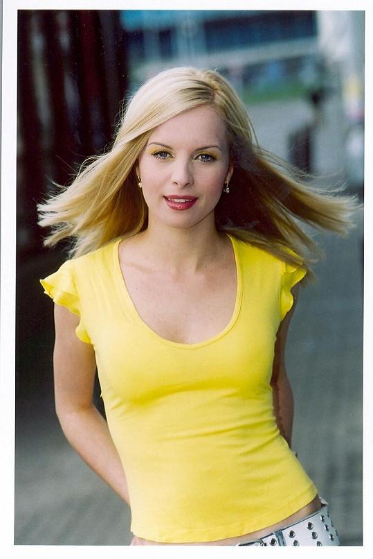 Takhle vypadala Kristelová před jedenácti lety.
