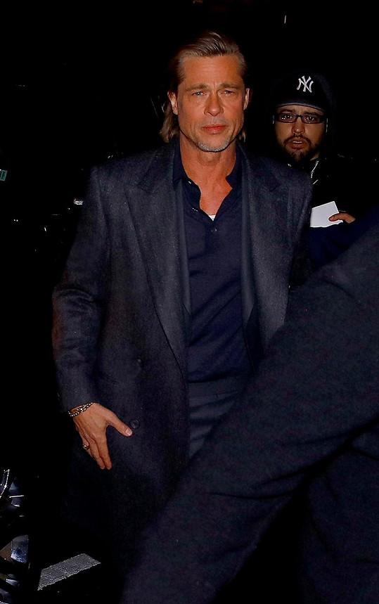 Brada Pitta události posledních dní nepotěšily.