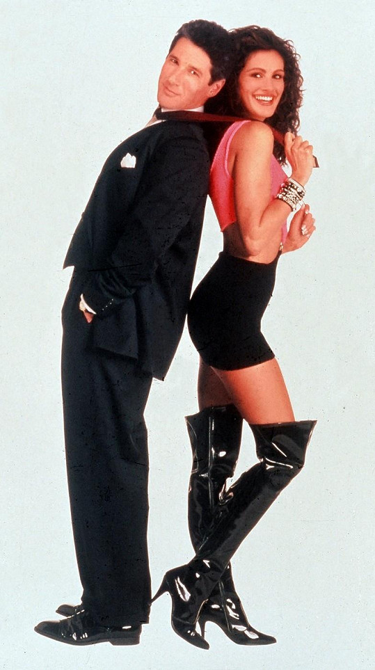 Hvězdy filmu Pretty Woman Julia Roberts a Richard Geere.