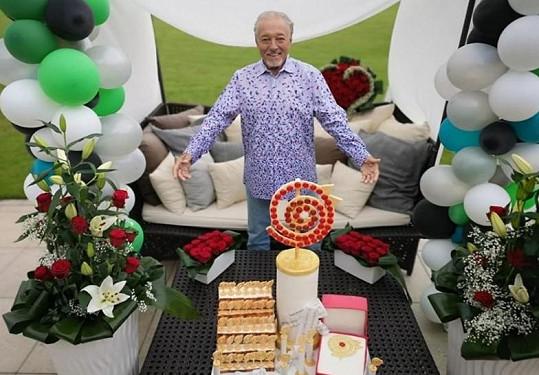 Karel Gott oslavil 80. narozeniny.