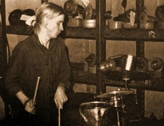 David Koller bubnoval od malička.