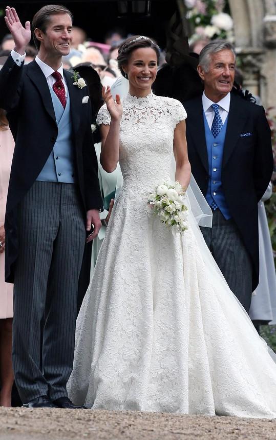 Pippa Middleton, sestra vévodkyně Kate se v roce 2021 stane opět maminkou. S manželem Jamesem Matthewsem se těší na druhé dítě.