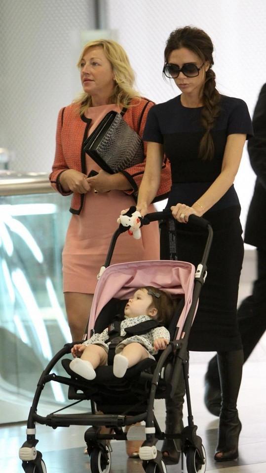 Malou Harper vzala hvězda do Hong Kongu s sebou.