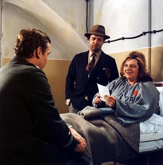 Pane, vy jste vdova! (1970): Na snímku Vladimír Menšík a Helena Růžičková