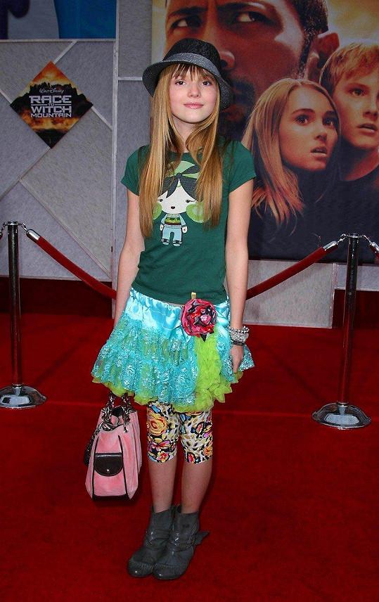 Bella Thorne v roce 2009