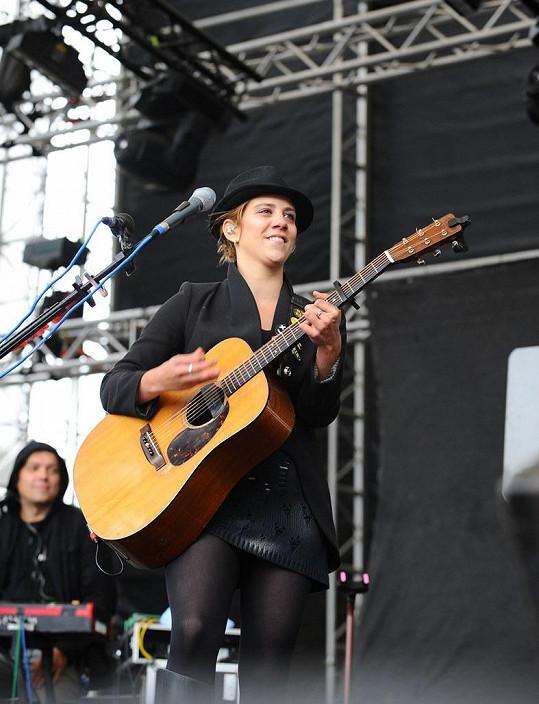 Aneta Langerová podle svých slov horší počasí během koncertu nikdy nezažila.