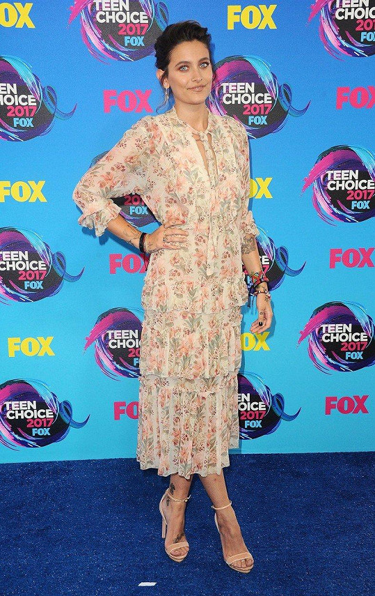 Paris Jackson na Teen Choice Awards
