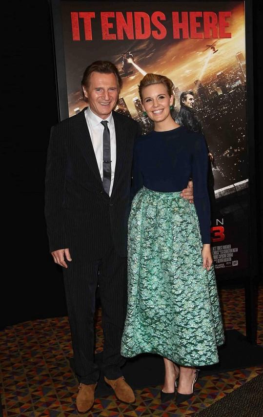 Maggie Grace si s Liamem Neesonem zahrála v krimi trilogii 96 hodin.