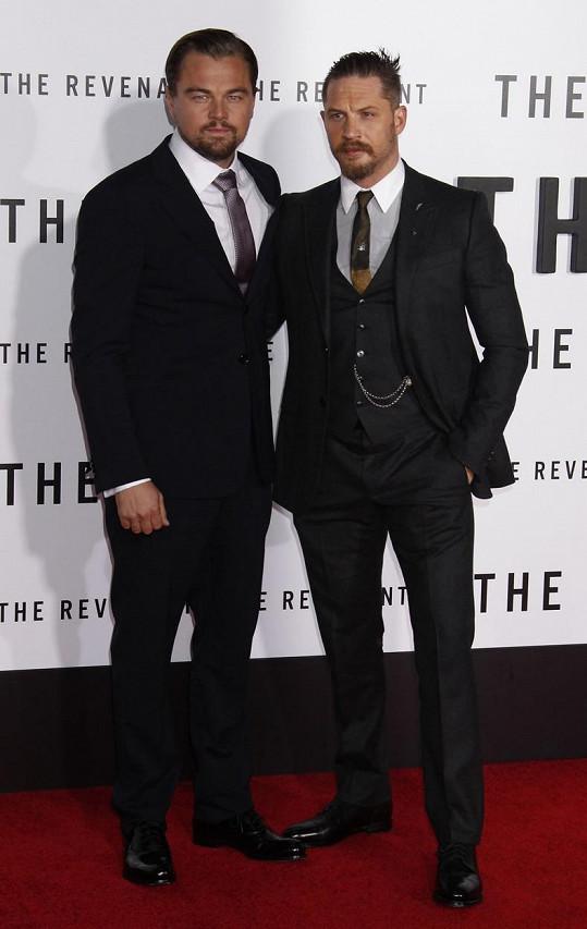 Tom Hardy i Leonardo DiCaprio se díky filmu Revenant: Zmrtvýchvstání dočkali nominace na Oscara.