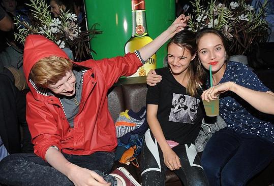 Na párty v Jameson stanu po něm pokukovala Tereza Voříšková.