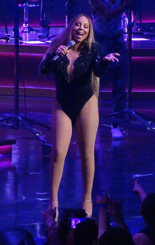 Mariah Carey odzpívala závěrečné vystoupení v Colosseu v Las Vegas.