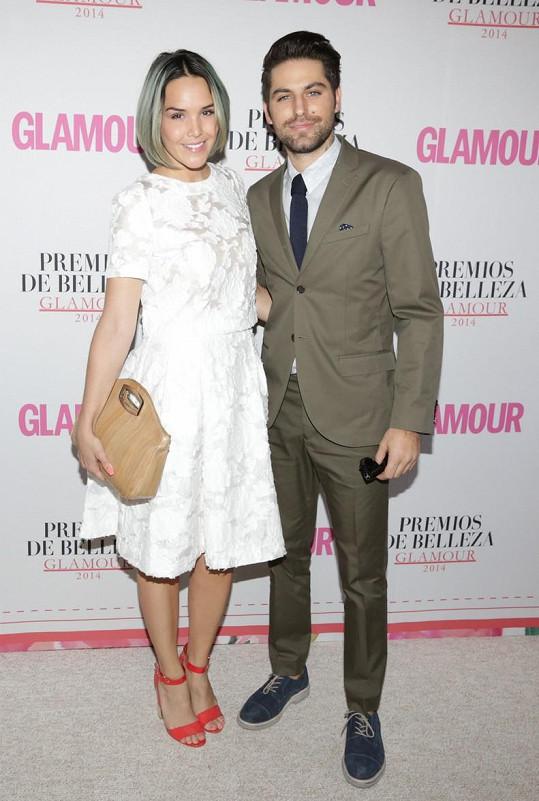 Renato Lopez s přítelkyní