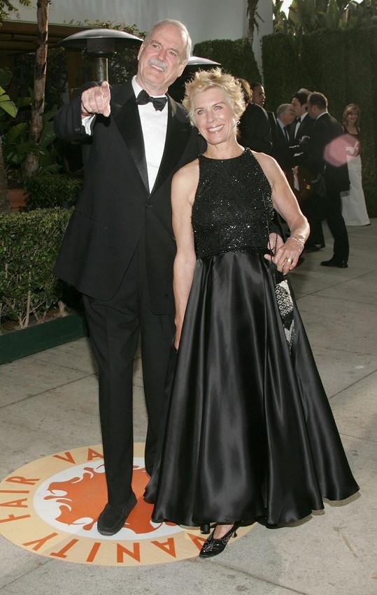 John Cleese s exmanželkou Alyce Faye Eichelberger