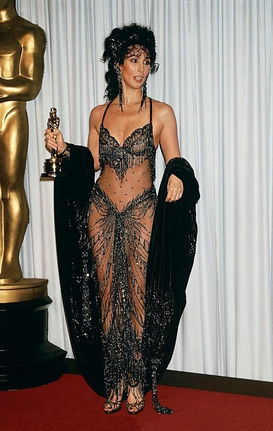 Cher na Oscarech roku 1988