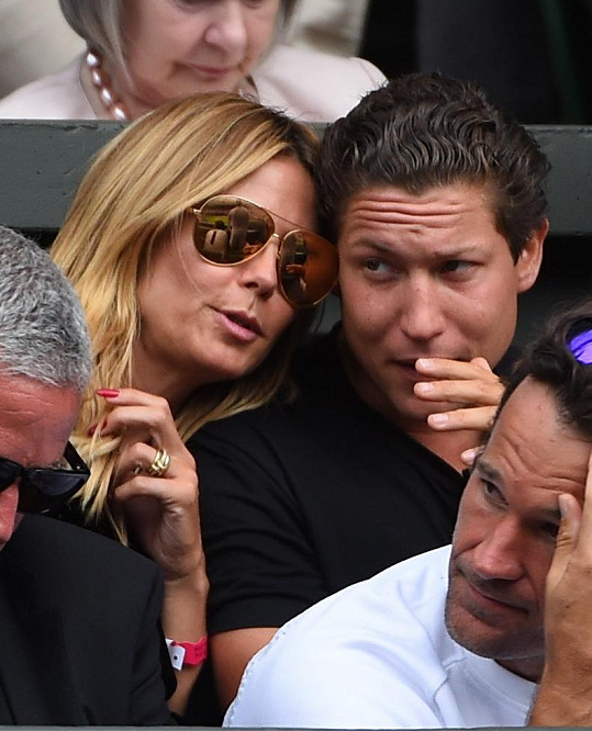 Vito v minulosti randil například s Heidi Klum...