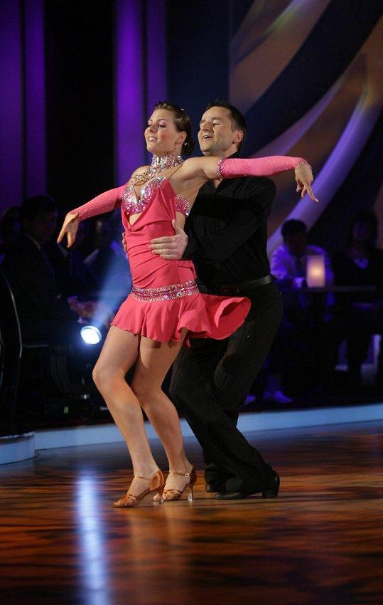 Robert Záruba ve StarDance tančil v roce 2007.
